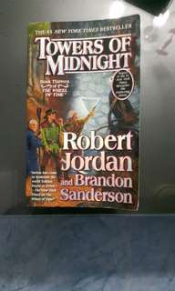 Towers Of Midnight Book 13 of { THE WHEEL OF TIME }