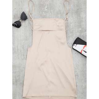 Zaful Backless Slip Dress