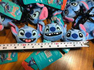 Stitch Funny Faces Keychain