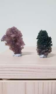 Grape Agate Crystal (2) from Indonesia 葡萄石(印度尼西亚)