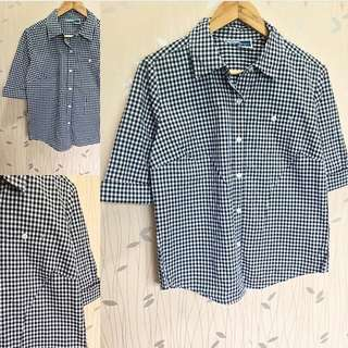 Gingham Classic Polo ❤️❤️