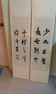 Chinese Calligraphy 没作者(30×90)cm