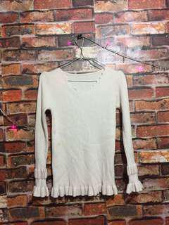 Balon top blouse