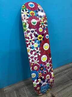 🌸 Takashi Murakami Multi Flower Skateboard ( HK AAA )