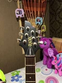 Gitar Radix OSiris & Amplifier Yamaha GA16