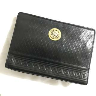 Authentic Vintage Gianni Versace Clutch bag 90%new