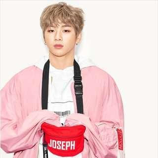 LAP X Kang Daniel Wanna One Naming Hip Sack