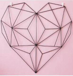 [Rental] Big heart wire mesh