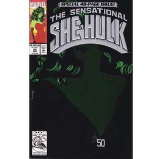 SENSATIONAL SHE-HULK #50 (1993) 52-page Giant