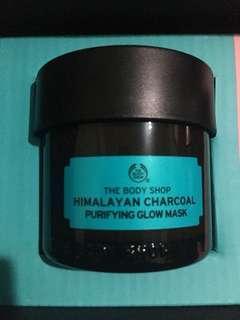 Himalayan charcoal mask