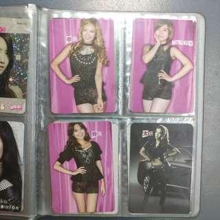 少女時代 Girls' Generation 絕版Yes卡