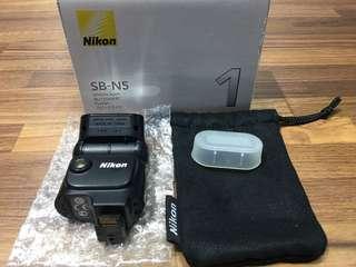 🚚 曙光數位 Nikon SB-N5 微單閃光燈 / Flash