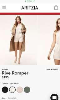 Wilfred romper
