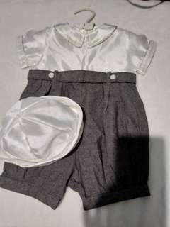 Baptismal Outfit for Baby Boy