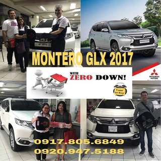 MONTERO SPORT GLX MT/MANUAL