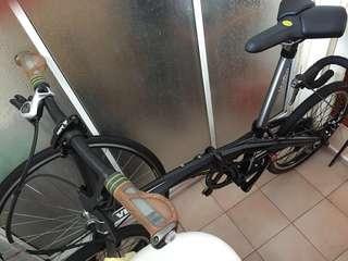 VERT V8 folding bike