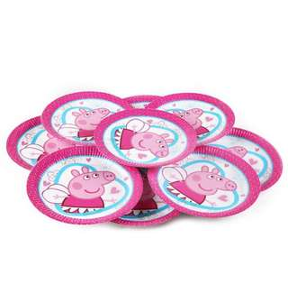 "🎀 Peppa pigs party supplies - 9"" party plates"