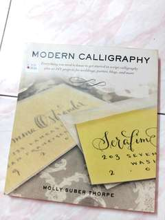 Modern Calligraphy book