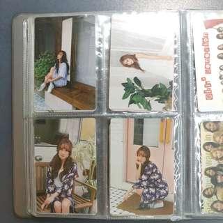 Jessica 2017年曆 小卡