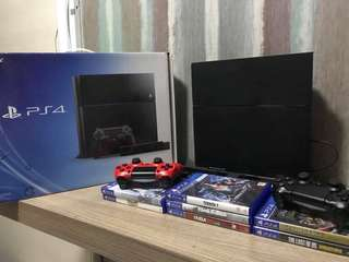 PS4 COMPLETE SET w/ games
