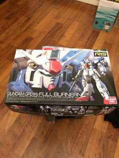 RG Gundam GP01Fb (注:不包骨架,其他件全齊未開)