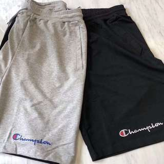 Champion Shorts (Available in Grey & Black)