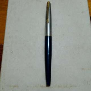 USA Blue Parker 45 Fountain Pen Vintage 9
