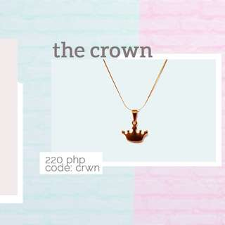 Sale!! The crown necklace