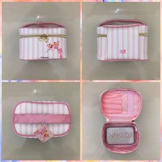 Make Up Bag (Pink Panther) Miniso