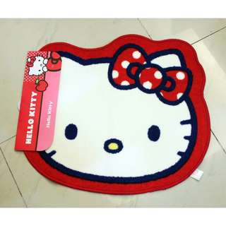 Hello Kitty di-cut floor mat