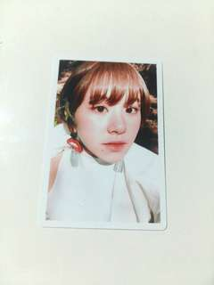 Twice Chaeyoung Signal Pre-Order Benefit Photocard