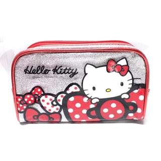 Sanrio Hello Kitty metallic multipurpose pouch