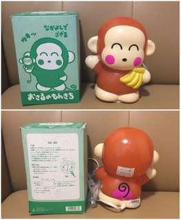 ** 分享 ** Sanrio Monkichi 馬騮仔 1994 年 人形膠燈 (Made in Japan)