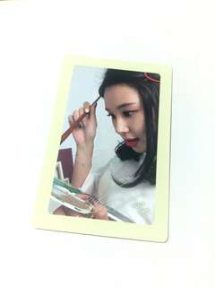Twice Chaeyoung Likey Twicetagram Pre-Order Benefit Photocard