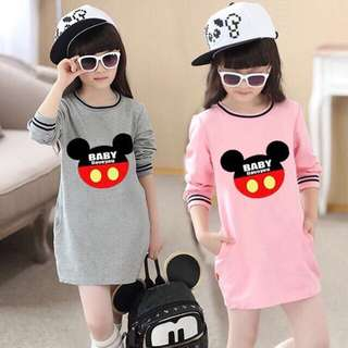 Mickey Mouse Dress Cotton