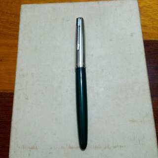 USA Green Parker 21 Fountain Pen Vintage 10
