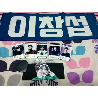 BTOB Changsub hand slogan set