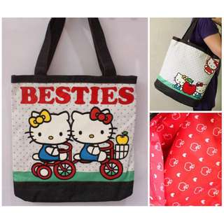 Hello Kitty Besties tote bag