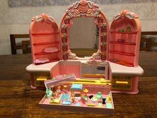 Polly Pocket Tiny Tricklets Dressing Table Set