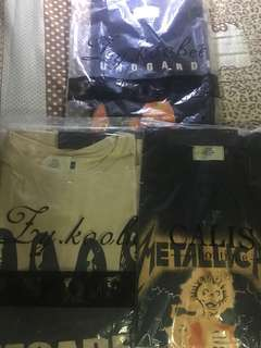FOG band shirts High quality made in thailand