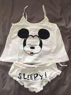 🚚 米奇可愛睡衣