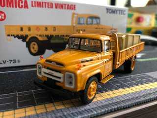 Tomica vintage tomytec 1:64 LV 73c 日本運通
