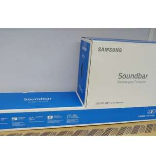 SAMSUNG Sound bar HW-M360 藍牙接收, 無線低音, 全新行貨,未開盒,有單有保用一年