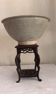 A Fine Porcelain grey Glazed Bowl