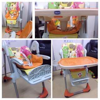 Chicco High Chair, limited pattern