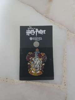 The making of Harry Potter London Warner Bros studio tour badge
