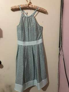 Promod halter polka-dot dress
