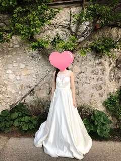 [婚嫁]Something Borrowed Bridal 二手婚紗(已乾洗)