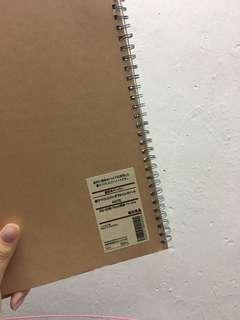 無印良品b5 單行筆記簿