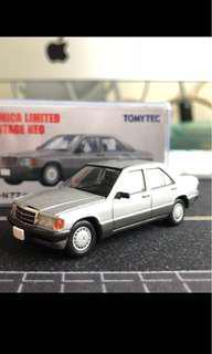 Tomica limited vintage Neo 絕版 超罕 tomytec LV-N77a Benz 左軚 190E